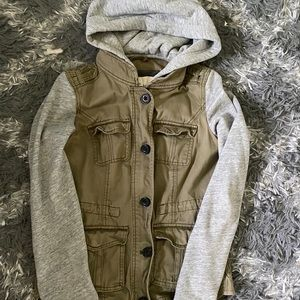 Abercrombie and Fitch Military Utility Jacket